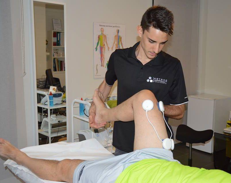 electroestimulación rodilla