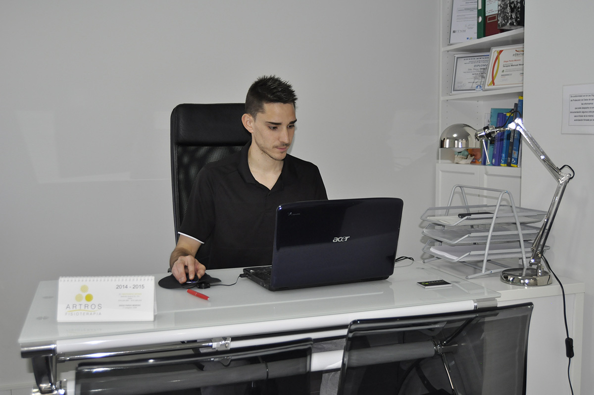Centro Fisioterapia: Despacho