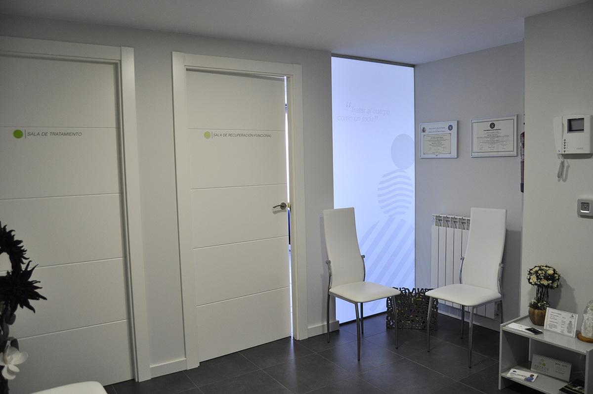 Centro fisioterapia: Entrada