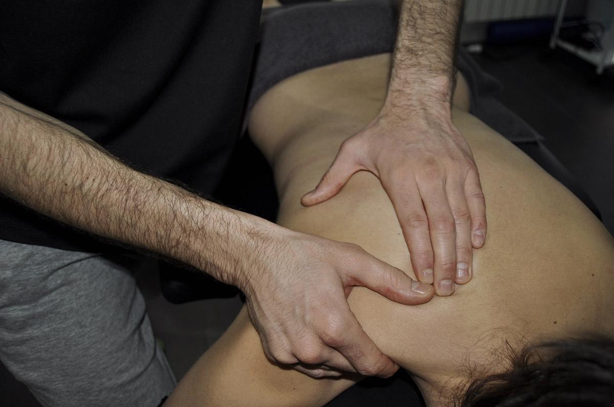 Tratamiento de fisioterapia: Masoterapia