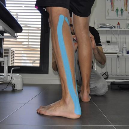Tratamiento fisioterapia: Vendaje euromuscular